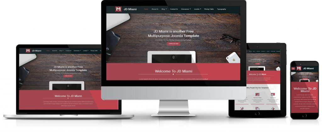 JD Miami – Joomla 3.5 Template from Joomdev