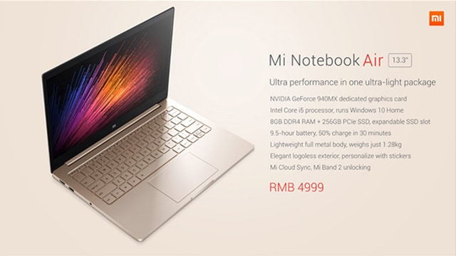 Mi Notebook Air 13.3 inch