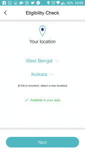 Feed your State and Area in MyJio app
