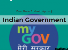 Indian Government Android Apps