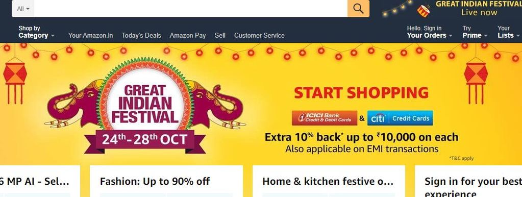 List of 15 Best Online Shopping Sites in India 2019