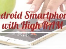 Android Smartphones with High RAM
