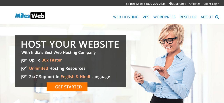Milesweb hosting review, Milesweb hosting