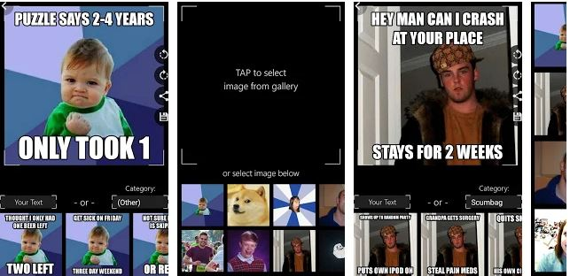 Top 10 Best Meme Generator Apps for Android | Techi Bhai