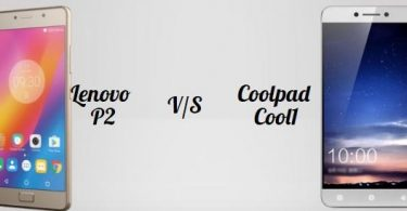 Lenovo P2 v/s Coolpad Cool1