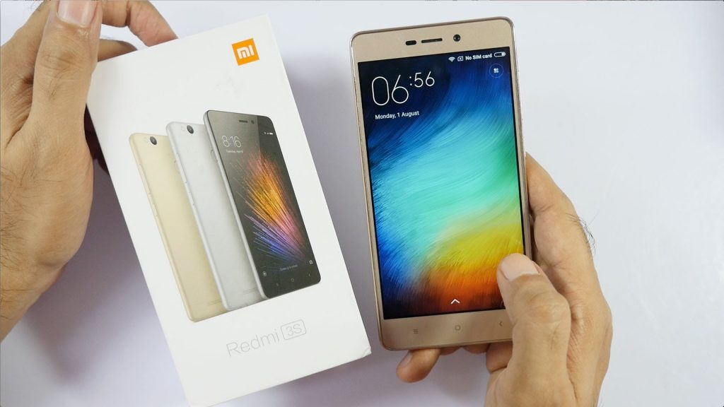Best phone for bloggers - Xiaomi Redmi 3S Prime