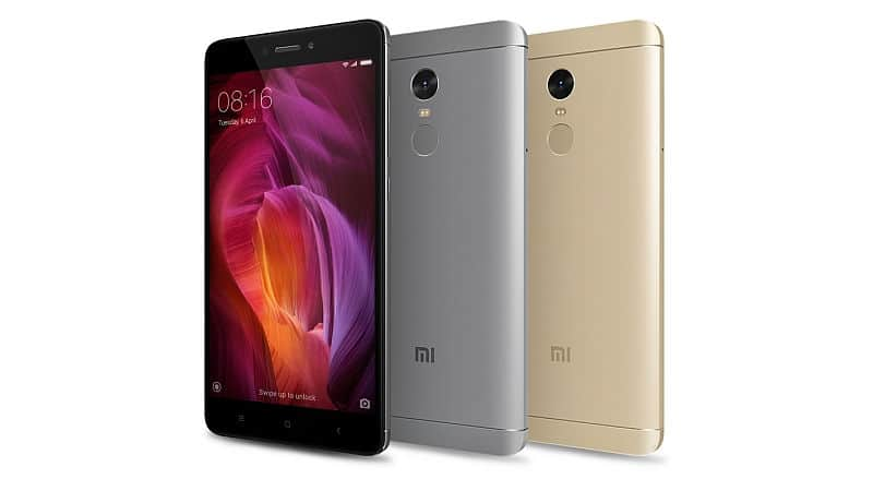 Best phone for bloggers - Xiaomi Redmi Note 4