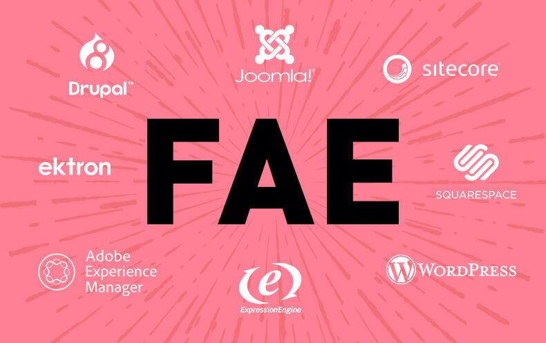 FAE CMS