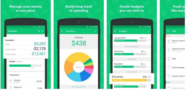 7 Budgeting Apps for Android to Track your Monthly Spending
