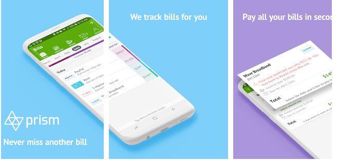 Prism Pay Bills
