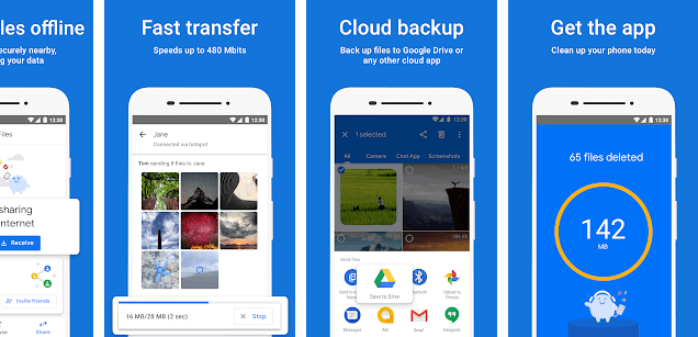 Files by Google, Google Files go