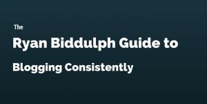 blogging Consistently