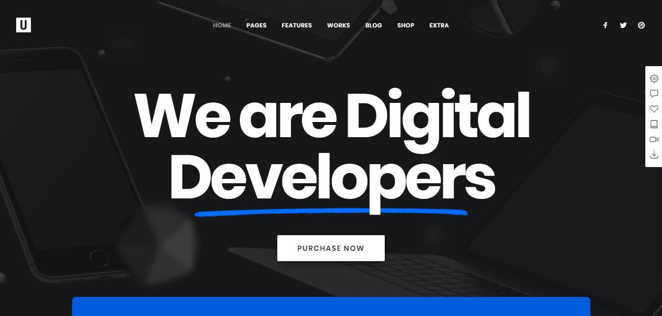 corporate site wordpress themes