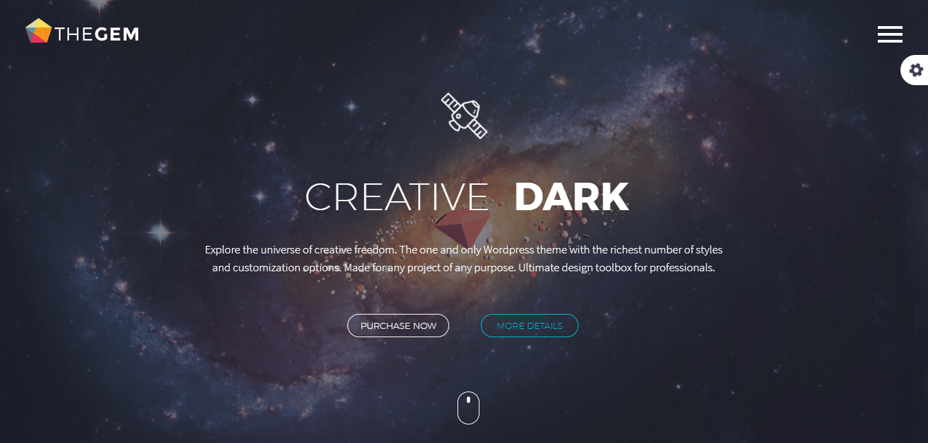 Splash Creative Dark – TheGem