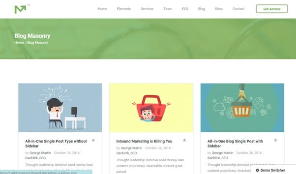 WprdPress blog themes