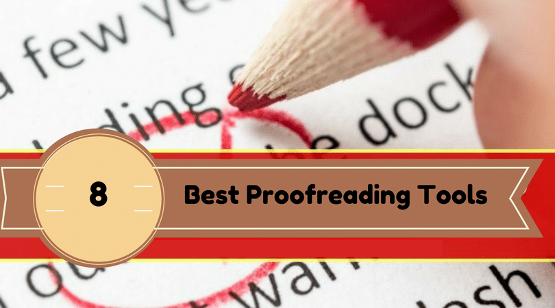 Proofreading Tools