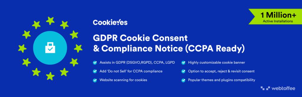 Cookieyes GDPR