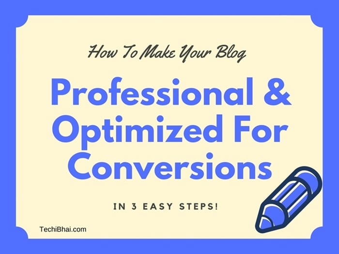 How to make your blog look professional