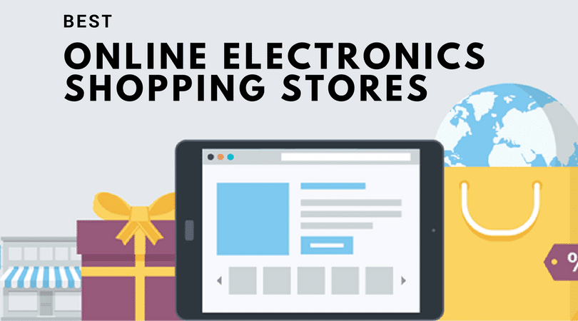 electronics shopping stores