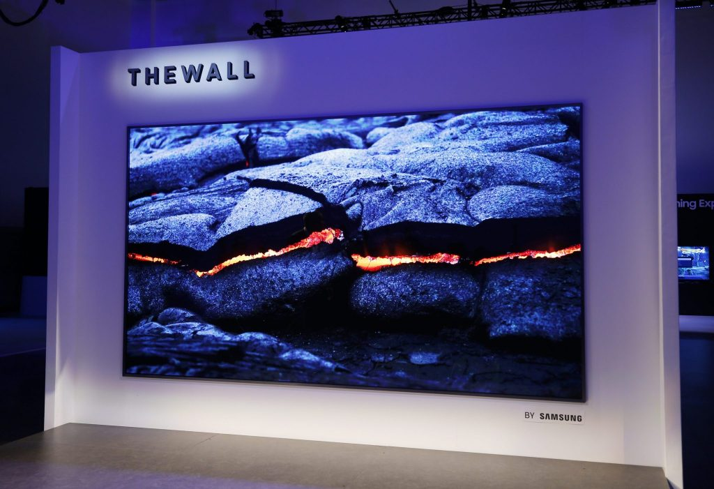 """The Wall"" by Samsung"