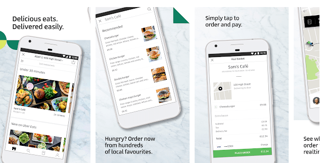 Uber Eats Local food delivery