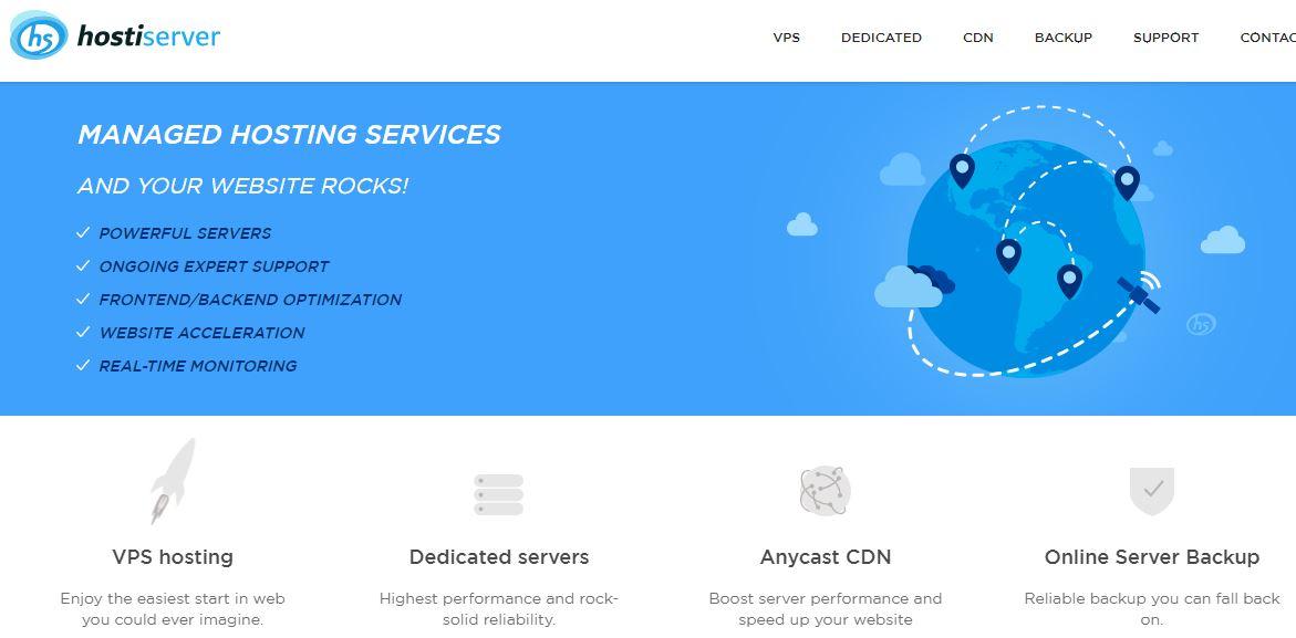 hostiServer, hostiServer hosting review