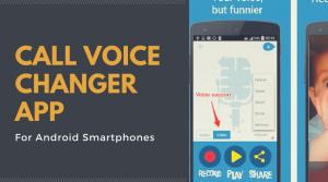Call Voice Changer App