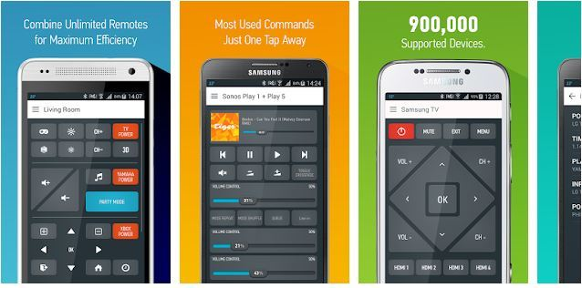 Top 5 Universal TV Remote Apps for Android to Control Your TV