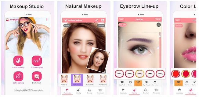 Top 7 Beauty Camera Apps To Try - Makeup and Beauty Apps for Android