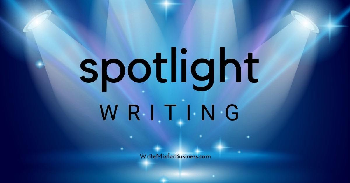 Spotlight Writing is the title visual for techibhai on writing apps and software by Sue-Ann Bubacz