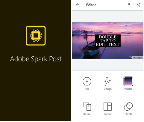 Adobe Spark logo Maker