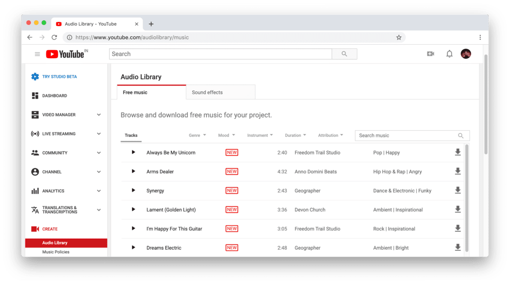 10 Best Royalty Free Music Downloading Sites for Vlogger's