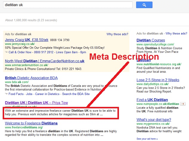Pay Attention to Meta Descriptions