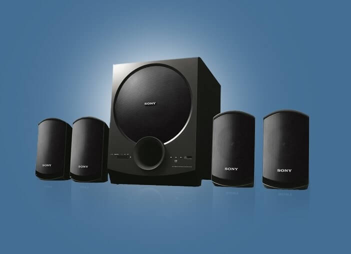 Sony 4.1 Home theatre Satellite Speakers (SA-D40)
