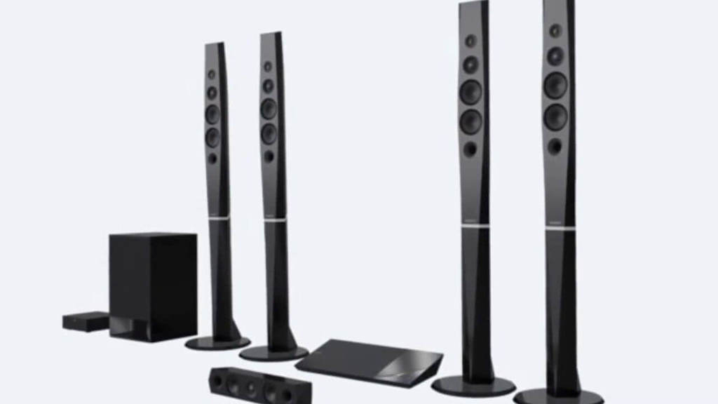 Sony Blu-Ray Home Theatre System with Bluetooth (BDV-N9200W)
