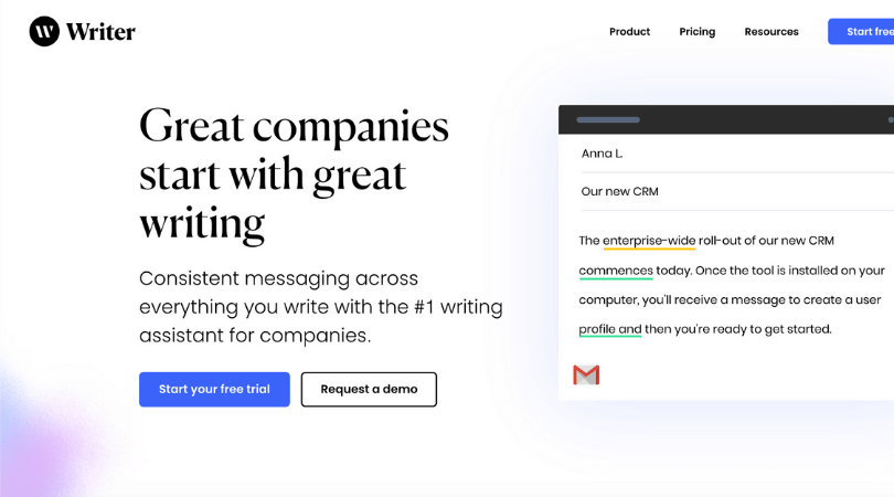 Writer.com Review – Online Writing Assistant tool