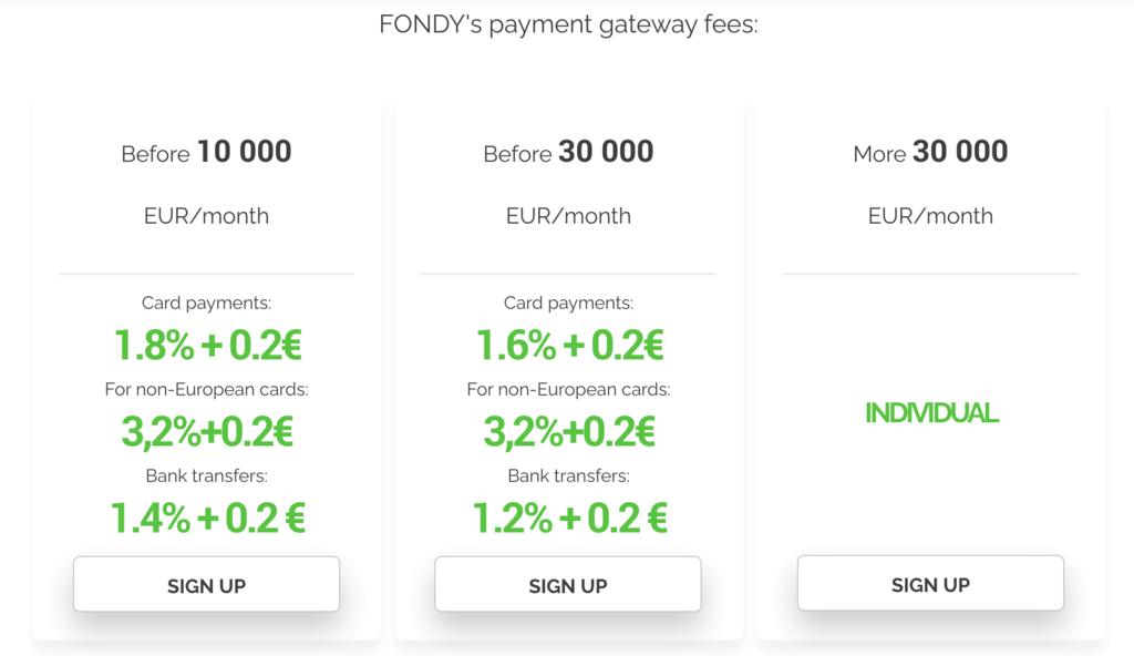 fondy-pricing