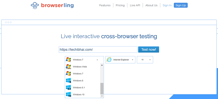 Browserling Offers Secure Online Browsers
