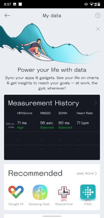 Blood pressure tracking